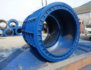 水泥制管模具生产为什么会变形